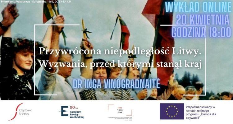 Wykład online || Przywrócona niepodległość Litwy. Wyzwania, przed którymi stanął kraj