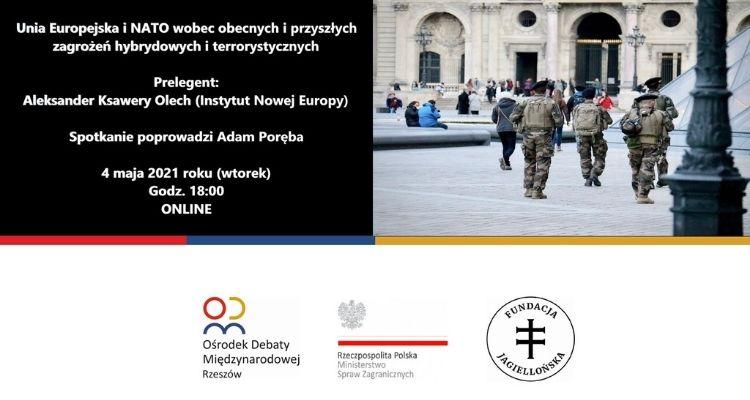 Unia Europejska i NATO wobec obecnych i przyszłych zagrożeń hybrydowych i terrorystycznych