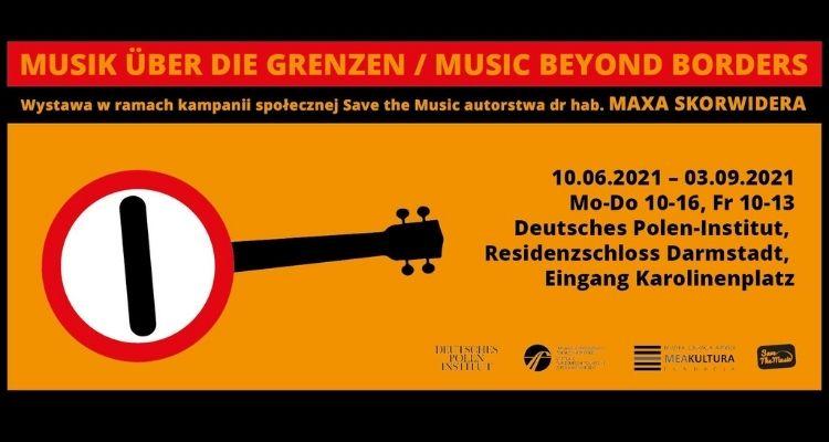Music Beyond Borders – wystawa plakatów Maxa Skorwidera