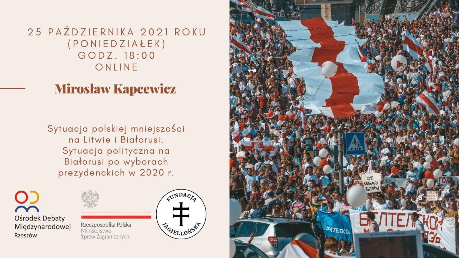 Sytuacja polskiej mniejszości na Litwie i Białorusi